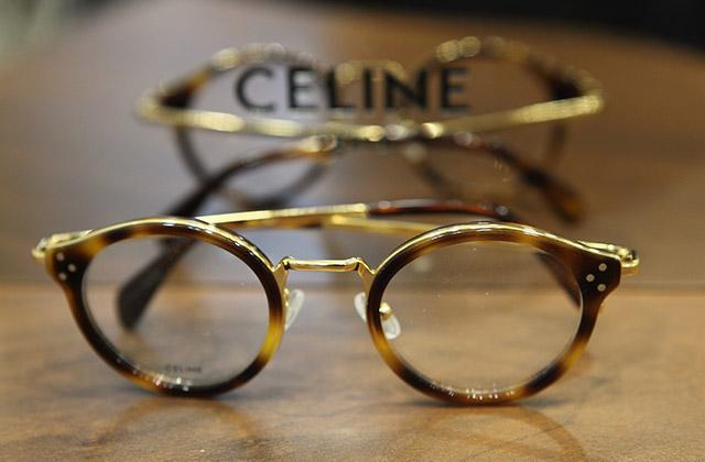 Lunettes Céline opticien détail
