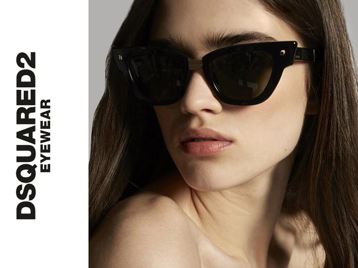 marque lunettes irisoptic Lunettes Dsquared2