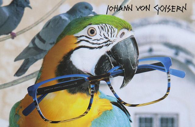 marque lunettes irisoptic Lunettes Johann Von Goisern