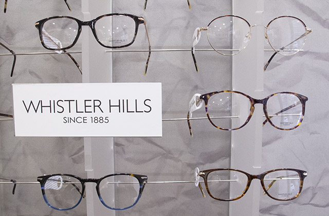 Lunettes Whistler Hills présentoir