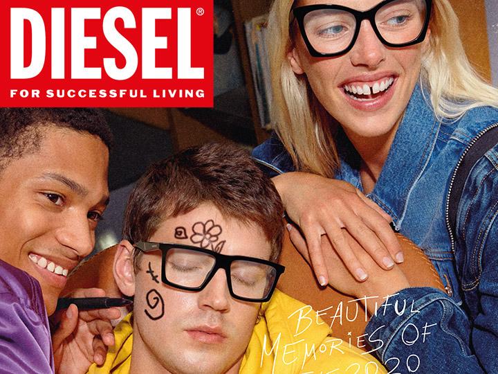 marque lunettes irisoptic Lunettes Diesel