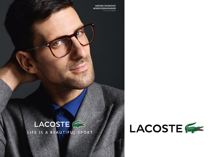 marque lunettes irisoptic Lacoste